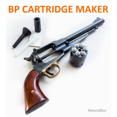 10 x BP Cartridge Maker - cal. 44 - outil de préparation des cartouches combustibles à poudre noire