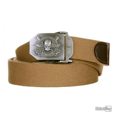 Ceinture   style 6 Force Recon  -  couleur coyote  - taille 130  -  241335