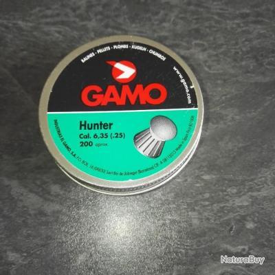 Boite de plomb 6.35mm Gamo Hunter