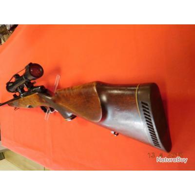 Carabine Steyr Mannlicher M d'occasion calibre 7X64, lunette AKAH