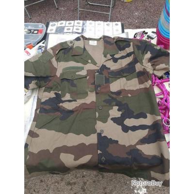 Chemise Militaire NEUF - Armée FR - Taille 41-42 - XL - Chemises ... a1c706a22a6