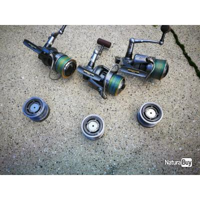 3 moulinets de marque Daiwa emcast advanced 5000