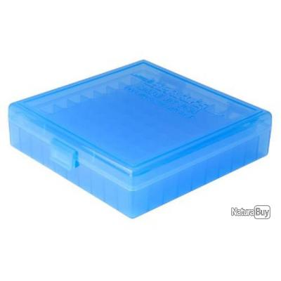 Boîte de rangement 100 cartouches cal 40 S&W, 10MM, 45 ACP, 357 Sig - #008