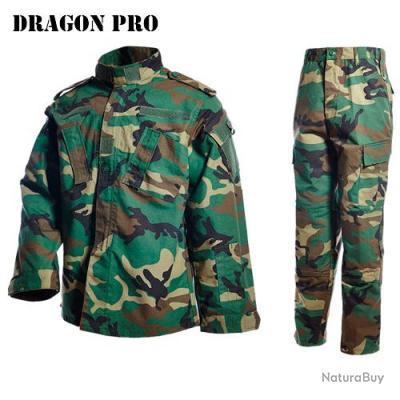 DRAGONPRO - AU001 ACU Uniform Set Woodland S