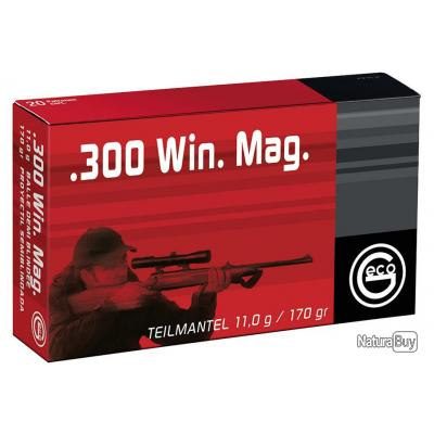 Munitions .243 WIN Teilmantel x 10 boites - GECO