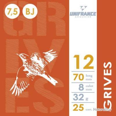 Munitions Grives 12/70 x 10 - UNIFRANCE