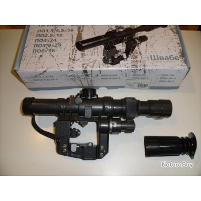 NPZ PO 3-9X24 pour fusil Tigre