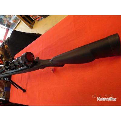 0a2dd21294 Carabine Mossberg Patriot Synthétique noir, neuve, calibre 243W, lunette  3-9x40 rti