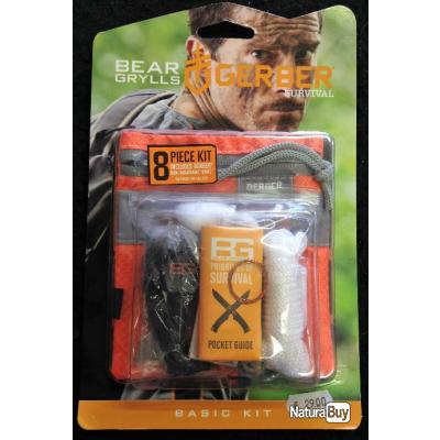 Kit de survie GERBER Bear Grylls.