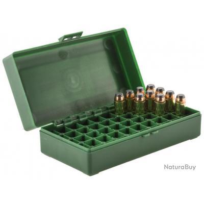 pack de 3 Boîtes de rangement 50 munitions cal. 45 ACP
