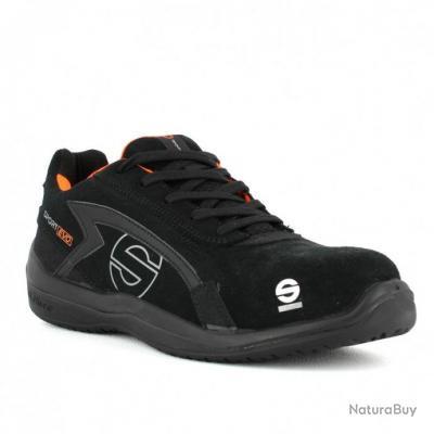 Chaussures de sécurité basses S3 SRC Sparco Teamwork Sport Evo Noir