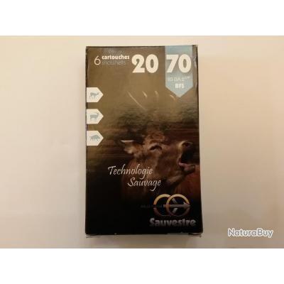 Cartouches à balle Sauvestre calibre 20/70 SUPER PROMO !!!