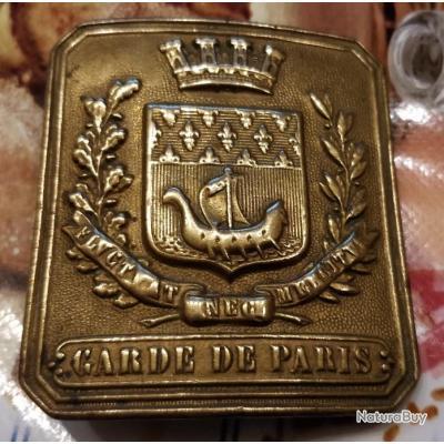 Boucle de ceinturon garde de Paris - Ceinturons et brelages ... 2719fc3206b