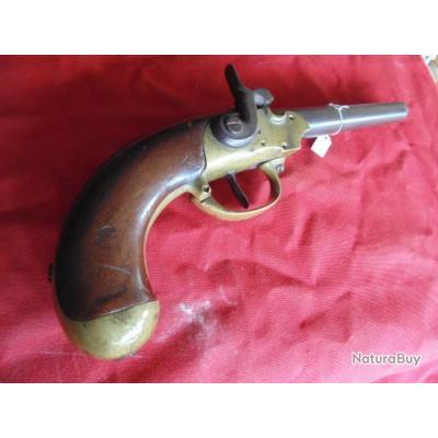 pistolet cavalerie dragon cuirassier mod 1777 modif à percussion