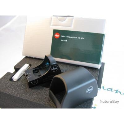 Point rouge Leica Tempus ASPH 2 MOA  pour un recouvrement plus faible sur la cible