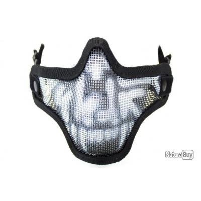 Bas de masque grillage Shield Skull NUPROL
