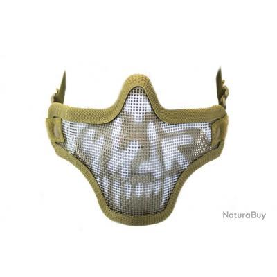 Bas de masque grillage Shield Skull NUPROL Tan