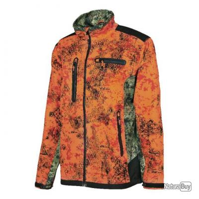Blouson Verney-carron Softshell X3 Snake Blaze - TAILLE XL