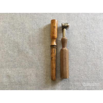 Manufrance - bourroir calibre 14mm