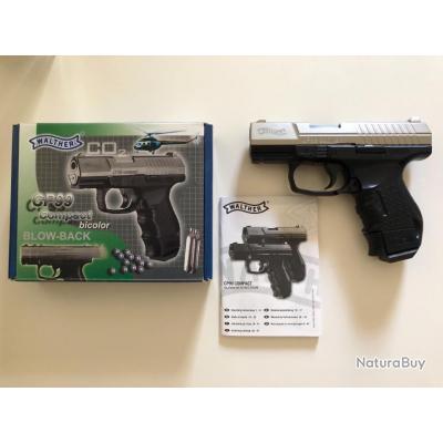 Walther CP99 compact blowback bicolor - Pistolets à plomb et