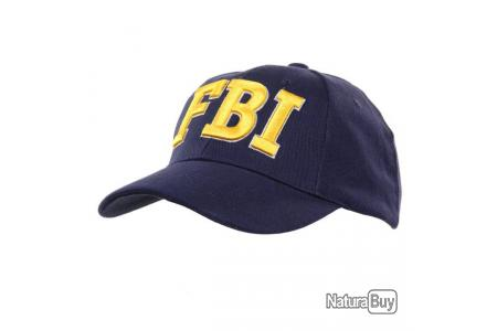 Casquette NOIR FBI