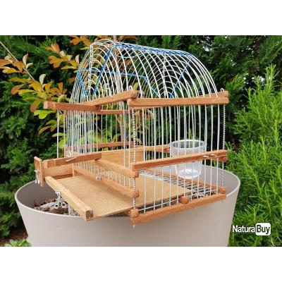 cage de chant voutée oiseaux bois ESPAGNOLE (CA006)