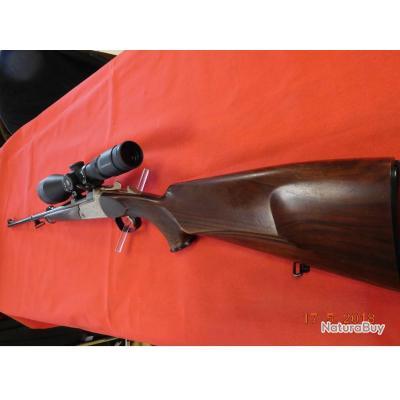 Carabine Kiplauff d'occasion Blaser K77 UL, lunette Leupold VXR 4-12x50 LUMINEUX, idéale en montagne