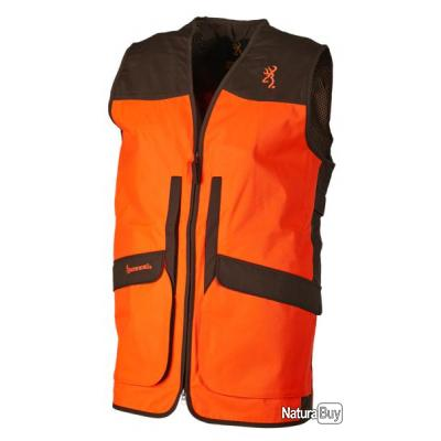 GILET UPLAND HUNTER VISIBILITY BROWNING M