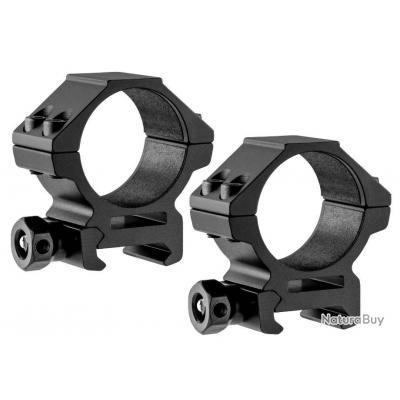 Colliers de Montage weaver - Picatinny - UTG diametre : 25.4 mm hauteur : 10 mm (SEP)