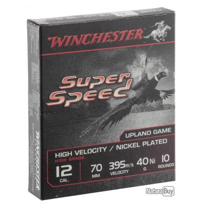 CARTOUCHES WINCHESTER SUPER SPEED G2 NICKEL cal .12/70 N°6