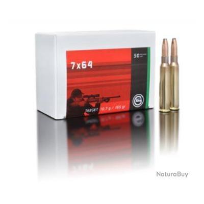 Cartouches GECO Target cal.7x64 10.7G 165GR par 100
