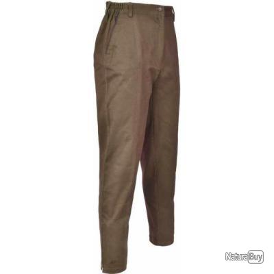 Pantalon LERY Club Interchasse marron 50