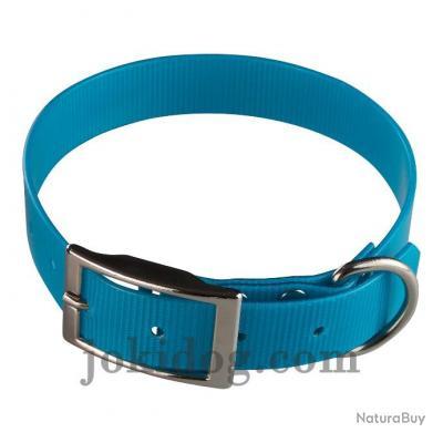 collier Gravé HUNT US 25 x 55 cm turquoise - biothane - jokidog