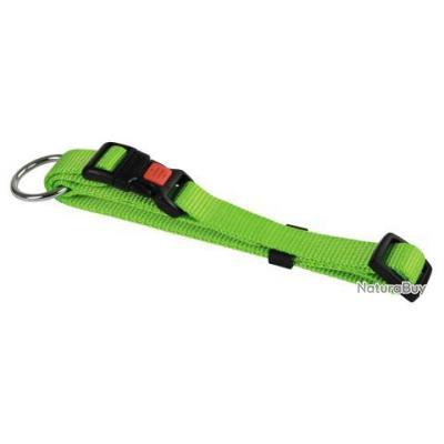 Collier Nylon réglable chien & chat 3 Vert