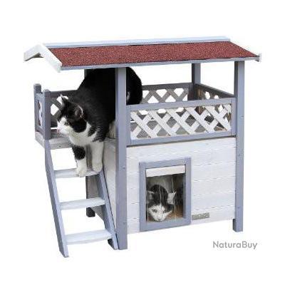 maison pour chat ext rieur chat mat riel 4900749. Black Bedroom Furniture Sets. Home Design Ideas