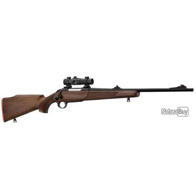 Pack Battue - Carabine à verrou FAIR à canon fileté 30-06 point rouge tubulaire + montage + fourreau