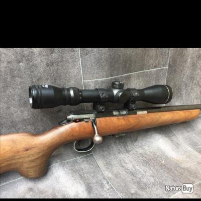 Carabine BSA SUPERSPORT 5 Calibre 22LR + lunette WEBLEY 3-9x40