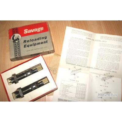 jeux outils SAVAGE calibre 225 Winchester - VENDU PAR JEPERCUTE (d8k43)