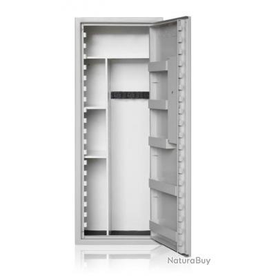 Coffre-fort - PREMIUM MIXTE 6 Armes + etageres modulables / Port offert