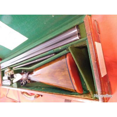 Fusil juxtaposé Holland & Holland Royal Hamerless ejector d'occasion à platines, calibre 12/70,