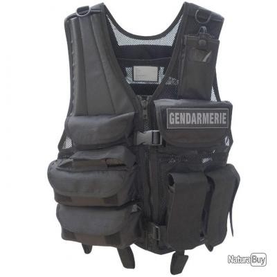 Gilet tactique force intervention OPEX