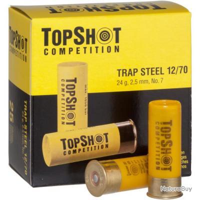Cartouches pour armes lisse, Trap Steel 12/70 (Calibre: 12/70)