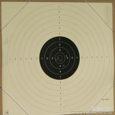 Cibles carabine 10M