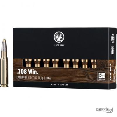 .308 Win., Evolution (11,9gr) (Calibre: .308 Win.)