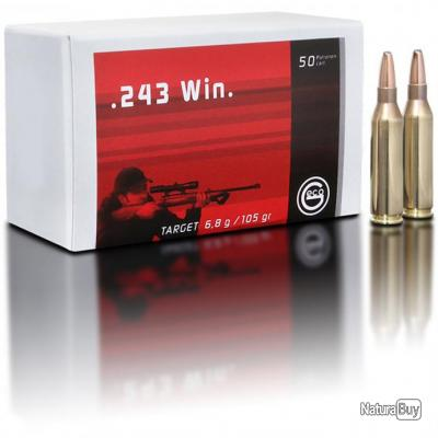 .243 Win., Demi-blindée Target (6,8gr) (Calibre: .243 Win.)