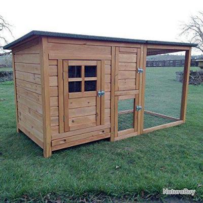 poulailler abri poule enclos caille clapier coq volaille pintade13cl poulaillers clapiers. Black Bedroom Furniture Sets. Home Design Ideas