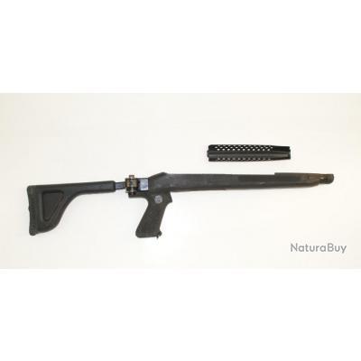 Crosse pliante d'occasion en composite pour carabine USM1 et son garde main ventilé