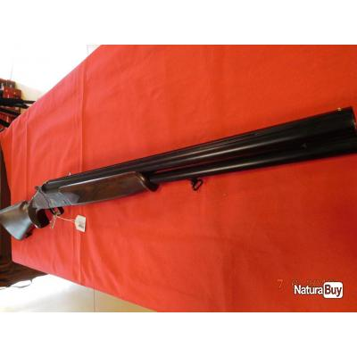 Fusil superposé Country Bécasse neuf calibre 12/76, 1 canon rayé, 1 canon choke interchangable.