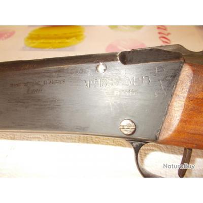 vends  Lebel  M 96   ,  R 35  fabriquer  a  TULLE   1938