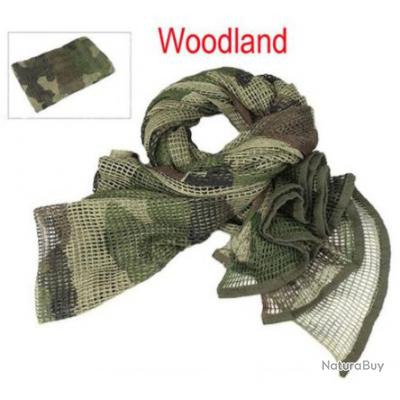 Echarpe de camouflage - Woodland